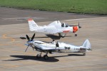 kumagorouさんが、花巻空港で撮影したイギリス企業所有 361 Spitfire LF9Cの航空フォト(飛行機 写真・画像)