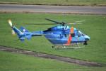 kumagorouさんが、花巻空港で撮影した岩手県警察 BK117C-1の航空フォト(飛行機 写真・画像)