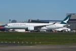 tassさんが、成田国際空港で撮影したキャセイパシフィック航空 A350-941XWBの航空フォト(飛行機 写真・画像)