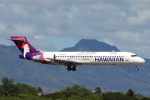 菊池 正人さんが、ダニエル・K・イノウエ国際空港で撮影したハワイアン航空 717-2BLの航空フォト(飛行機 写真・画像)