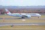 Re4/4さんが、新千歳空港で撮影した日本航空 A350-941XWBの航空フォト(写真)