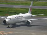 なまくら はげるさんが、羽田空港で撮影した日本航空 767-346/ERの航空フォト(飛行機 写真・画像)