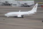 OMAさんが、羽田空港で撮影したアラブ・ウイングス 737-7GJ BBJの航空フォト(飛行機 写真・画像)