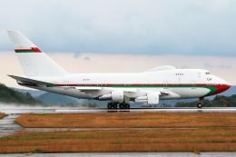 Mar Changさんが、広島空港で撮影したオマーン・ロイヤル・フライト 747SP-27の航空フォト(飛行機 写真・画像)