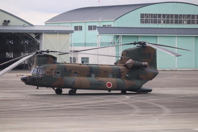 flyflygoさんが、高遊原分屯地で撮影した陸上自衛隊 CH-47JAの航空フォト(飛行機 写真・画像)