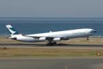 yabyanさんが、中部国際空港で撮影したキャセイパシフィック航空 A340-313Xの航空フォト(写真)