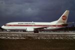 tassさんが、フォートローダーデール・ハリウッド国際空港で撮影したコンチネンタル航空 737-3T0の航空フォト(飛行機 写真・画像)