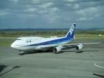 鮎の塩焼きさんが、新千歳空港で撮影した全日空 747-481(D)の航空フォト(写真)