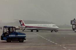 ヒロリンさんが、ブリュッセル国際空港で撮影したダン=エア 111-518FG One-Elevenの航空フォト(飛行機 写真・画像)