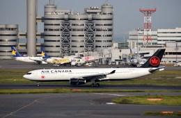 よんすけさんが、羽田空港で撮影したエア・カナダ A330-343Xの航空フォト(飛行機 写真・画像)