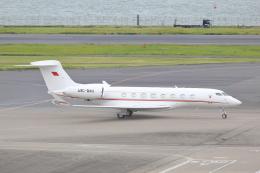 meron panさんが、羽田空港で撮影したバーレーン王室航空 G-IV Gulfstream IV-SPの航空フォト(飛行機 写真・画像)