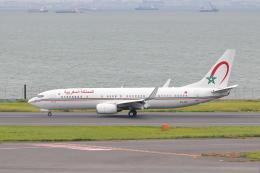 meron panさんが、羽田空港で撮影したモロッコ政府 737-8KB BBJ2の航空フォト(飛行機 写真・画像)