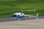 ドリさんが、福島空港で撮影した海上保安庁 505 Jet Ranger Xの航空フォト(写真)