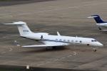 ドリさんが、福島空港で撮影したノースロップ・グラマン G-V-SP Gulfstream G550の航空フォト(飛行機 写真・画像)