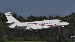 パンダさんが、成田国際空港で撮影したダッソー・アビエーション Falcon 2000EXの航空フォト(飛行機 写真・画像)