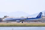Jyunpei Ohyamaさんが、岩国空港で撮影した全日空 A321-272Nの航空フォト(写真)
