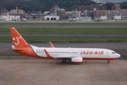 Mr.boneさんが、福岡空港で撮影したチェジュ航空 737-8Q8の航空フォト(飛行機 写真・画像)