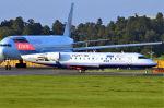 キットカットさんが、成田国際空港で撮影したアイベックスエアラインズ CL-600-2B19 Regional Jet CRJ-100LRの航空フォト(写真)