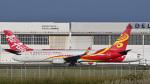 パンダさんが、成田国際空港で撮影した海南航空 737-84Pの航空フォト(飛行機 写真・画像)