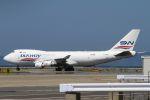 ハニーベルくんさんが、関西国際空港で撮影したシルクウェイ・ウェスト・エアラインズ 747-4H6F/SCDの航空フォト(飛行機 写真・画像)