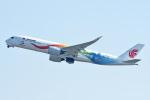 sachiさんが、関西国際空港で撮影した中国国際航空 A350-941の航空フォト(飛行機 写真・画像)