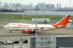 幹ポタさんが、羽田空港で撮影したエア・インディア 747-437の航空フォト(写真)