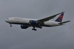 qooさんが、成田国際空港で撮影したデルタ航空 777-232/LRの航空フォト(飛行機 写真・画像)