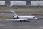 KAZFLYERさんが、成田国際空港で撮影したTulpar BD-700-1A11 Global 5000の航空フォト(飛行機 写真・画像)