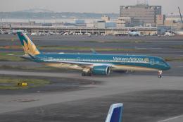 素足の女神さんが、羽田空港で撮影したベトナム航空 A350-941の航空フォト(飛行機 写真・画像)