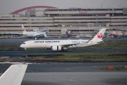 素足の女神さんが、羽田空港で撮影した日本航空 A350-941の航空フォト(飛行機 写真・画像)
