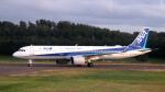 誘喜さんが、庄内空港で撮影した全日空 A321-272Nの航空フォト(飛行機 写真・画像)