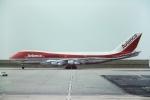 tassさんが、パリ シャルル・ド・ゴール国際空港で撮影したアビアンカ航空 747-259BMの航空フォト(飛行機 写真・画像)