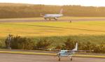 誘喜さんが、庄内空港で撮影した共立航空撮影 208 Caravan Iの航空フォト(写真)