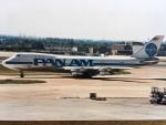 twinengineさんが、ロンドン・ヒースロー空港で撮影したパンアメリカン航空 747-121の航空フォト(飛行機 写真・画像)