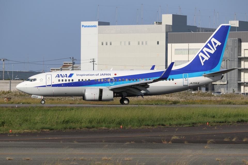 ぽんさんの全日空 Boeing 737-700 (JA05AN) 航空フォト