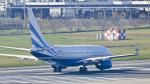 パンダさんが、成田国際空港で撮影したラスベガス サンズ 737-75T BBJの航空フォト(飛行機 写真・画像)