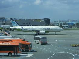 ヒロリンさんが、金海国際空港で撮影したエアプサン A320-232の航空フォト(飛行機 写真・画像)