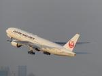 トタさんが、羽田空港で撮影した日本航空 777-289の航空フォト(飛行機 写真・画像)