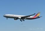 tassさんが、成田国際空港で撮影したアシアナ航空 A330-323Xの航空フォト(飛行機 写真・画像)