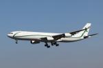mogusaenさんが、成田国際空港で撮影したエアXチャーター A340-312の航空フォト(飛行機 写真・画像)