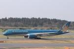 KAZFLYERさんが、成田国際空港で撮影したベトナム航空 A350-941の航空フォト(飛行機 写真・画像)