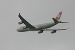 アイスコーヒーさんが、成田国際空港で撮影したスイスインターナショナルエアラインズ A340-313Xの航空フォト(飛行機 写真・画像)