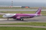 ショウさんが、関西国際空港で撮影したピーチ A320-214の航空フォト(写真)