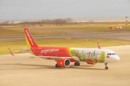 BELL602さんが、新潟空港で撮影したベトジェットエア A321-271Nの航空フォト(飛行機 写真・画像)