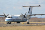 sakanayahiroさんが、釧路空港で撮影した海上保安庁 DHC-8-315 Dash 8の航空フォト(写真)