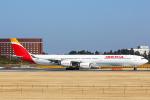 SGR RT 改さんが、成田国際空港で撮影したイベリア航空 A340-642Xの航空フォト(写真)