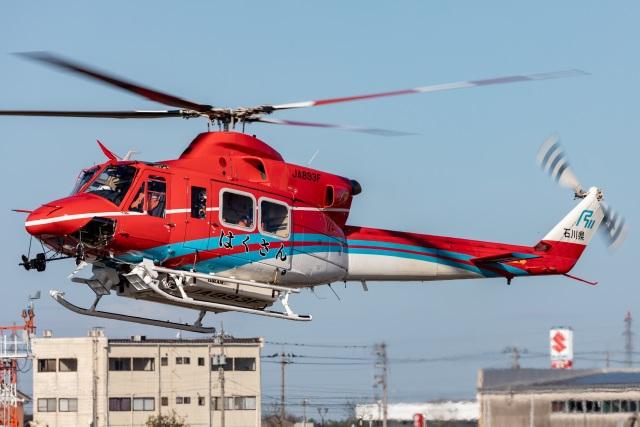 2019年11月02日に撮影された石川県消防防災航空隊の航空機写真