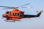 まんぼ しりうすさんが、福井空港で撮影した富山県消防防災航空隊 412EPの航空フォト(飛行機 写真・画像)