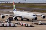 契丹さんが、中部国際空港で撮影した南アフリカ航空 A340-642の航空フォト(写真)