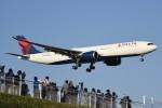 さくらの城南山。さんが、成田国際空港で撮影したデルタ航空 A330-941の航空フォト(飛行機 写真・画像)